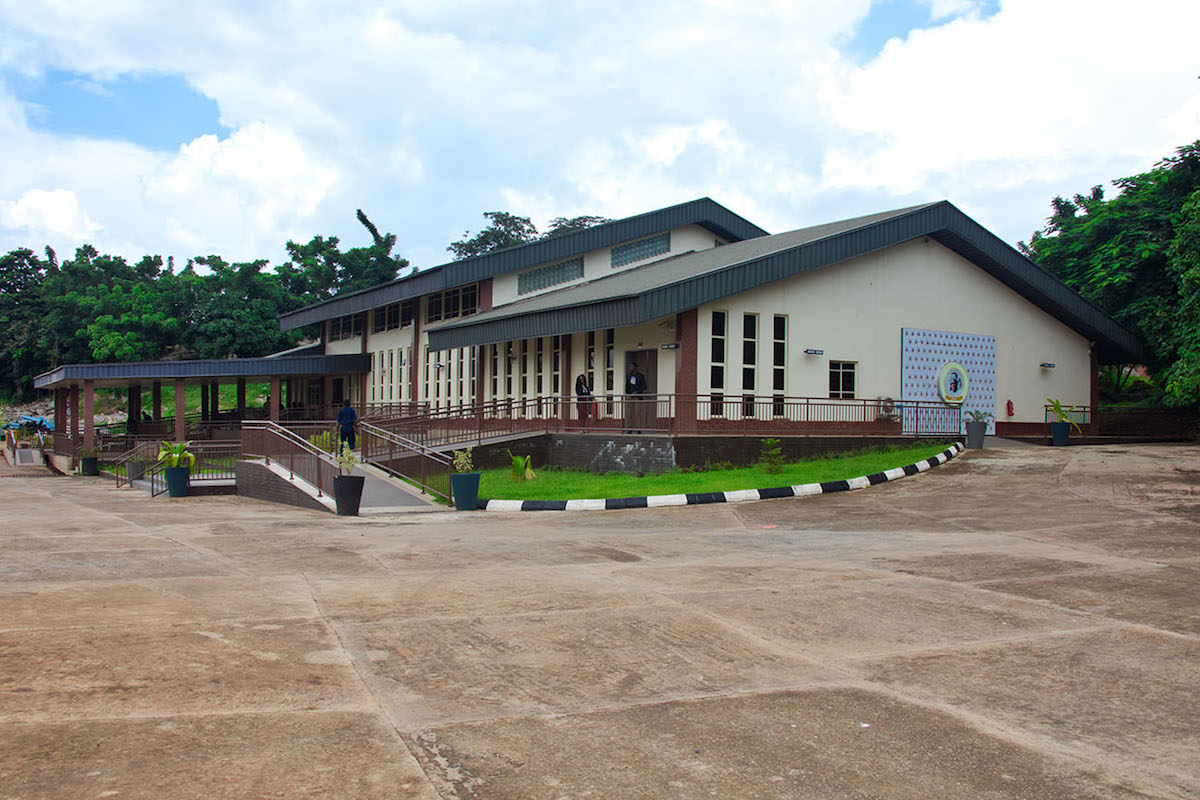 The Arrival Pavilion is the first point of visit on a tour of the OOPL museum in Abeokuta
