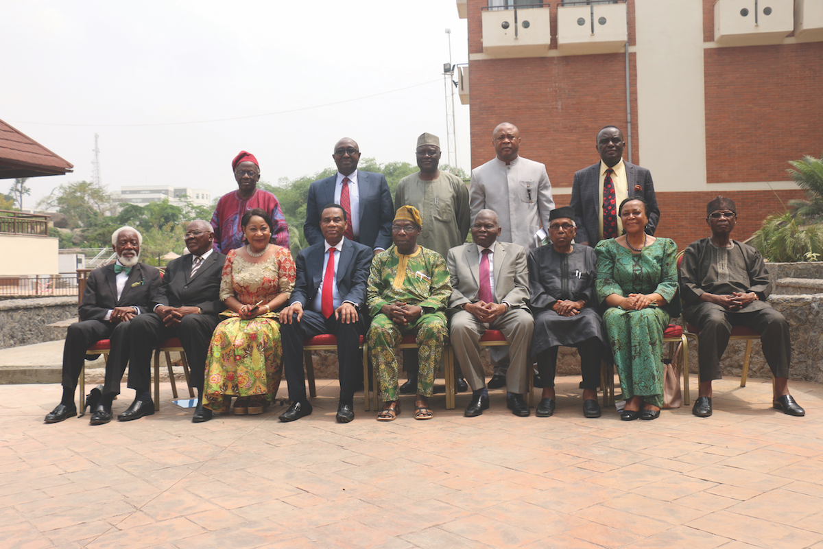 A picture of the OOPL Board of Trustees