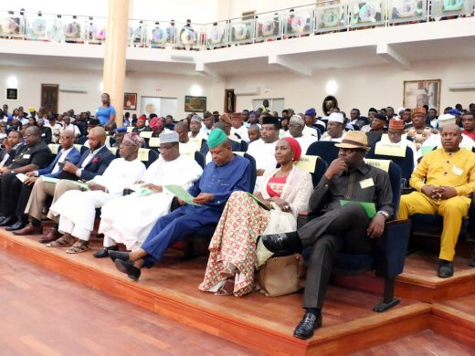 Attendance at the youth Governance Dialogue in OOPL Abeokuta