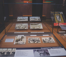 A display of OOPL Archives