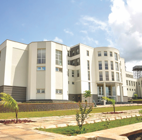 A view of Olusegun Obasanjo Presidential Library in Abeokuta