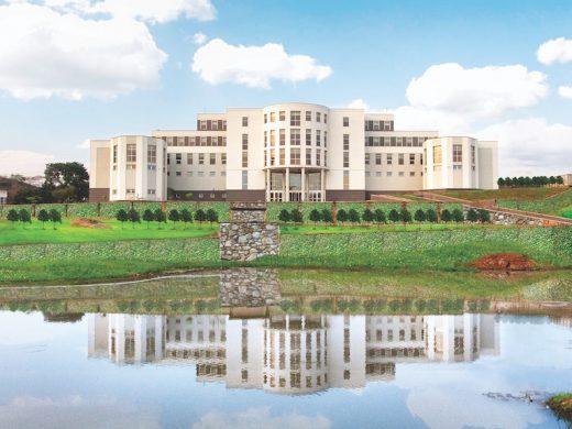 A beautiful view of the Olusegun Obasanjo Presidential Library in Abeokuta, Ogun State