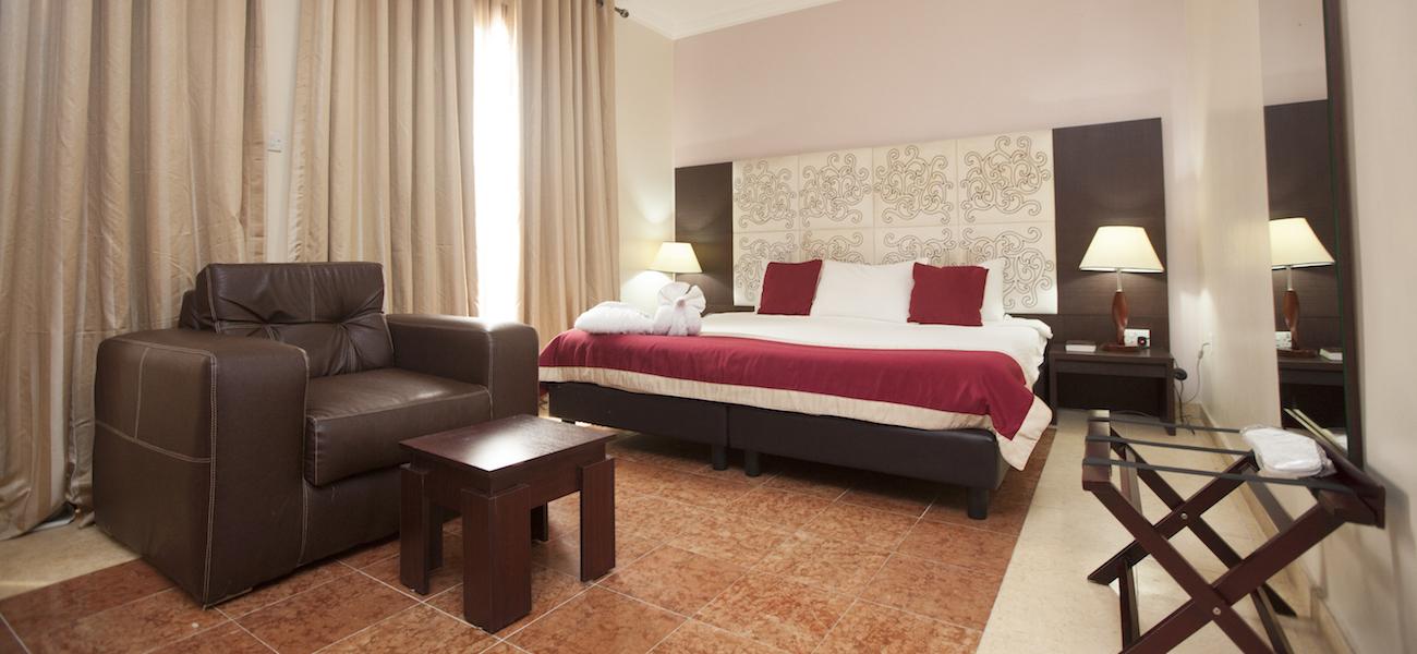 A room in Green Legacy Resort, OOPL, Abeokuta